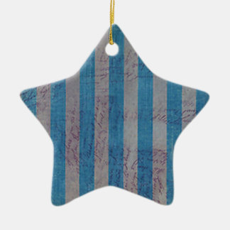 Weathered Love Notes Ceramic Ornament