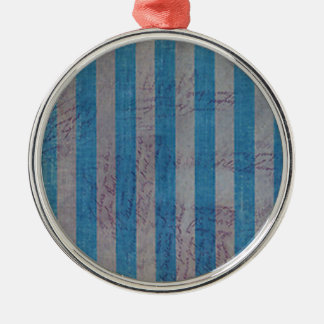Weathered Love Notes Metal Ornament