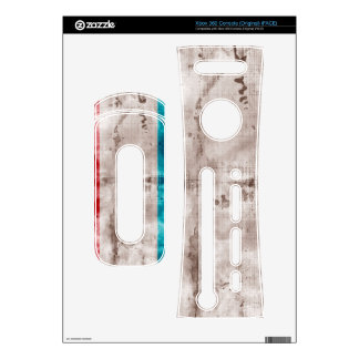 Weathered Luxembourg Flag Decal For Xbox 360