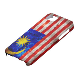 Weathered Malaysia Flag iPhone 5 Cover