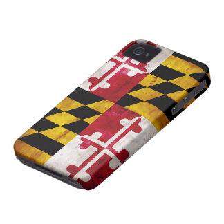 Weathered Maryland Flag Blackberry Cases