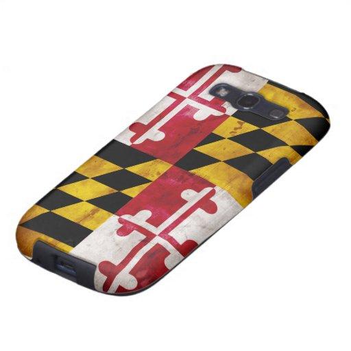 Weathered Maryland Flag Samsung Galaxy SIII Covers