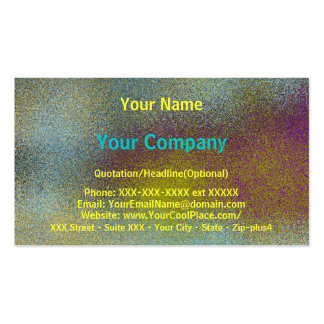 Weathered Metal - shaded business card template