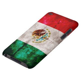 Weathered Mexican Flag iPod Touch Case