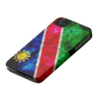 Weathered Namibia Flag Case-Mate iPhone 4 Case