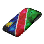 Weathered Namibia Flag iPhone 3 Case-Mate Cases