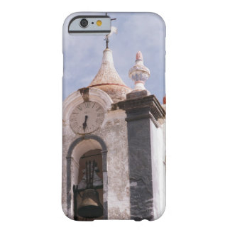 Weathered, old-fashioned clock tower, Portugal Barely There iPhone 6 Case