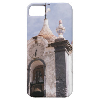 Weathered old-fashioned clock tower Portugal iPhone 5 Case