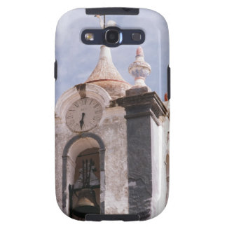 Weathered old-fashioned clock tower Portugal Galaxy S3 Case