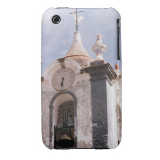 Weathered old-fashioned clock tower Portugal iPhone 3 Case-Mate Case