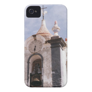 Weathered old-fashioned clock tower Portugal iPhone 4 Case
