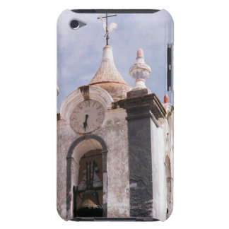 Weathered old-fashioned clock tower Portugal iPod Touch Cases
