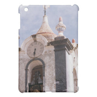 Weathered old-fashioned clock tower Portugal iPad Mini Cases