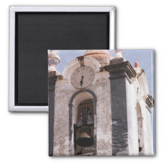 Weathered old-fashioned clock tower Portugal Refrigerator Magnet