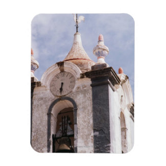 Weathered old-fashioned clock tower Portugal Vinyl Magnet