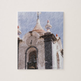 Weathered old-fashioned clock tower Portugal Jigsaw Puzzle