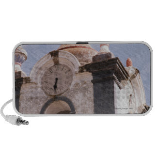 Weathered old-fashioned clock tower Portugal Mp3 Speaker