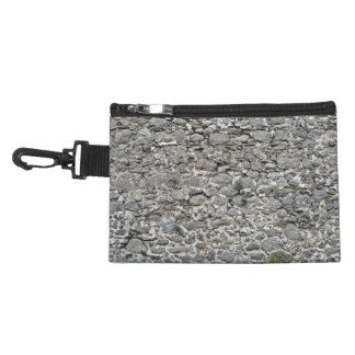 Weathered Old Stone Wall Accessories Bags