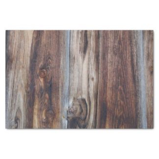 Weathered Old Wood Wall Texture Tissue Paper
