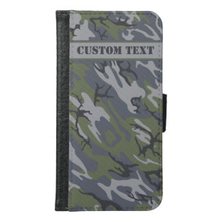 Weathered Outcrop Camo Smartphone Wallet w/ Text