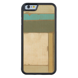 Weathered Panel Painting by Jennifer Goldberger Carved Maple iPhone 6 Bumper Case
