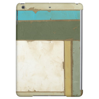 Weathered Panel Painting by Jennifer Goldberger Cover For iPad Air