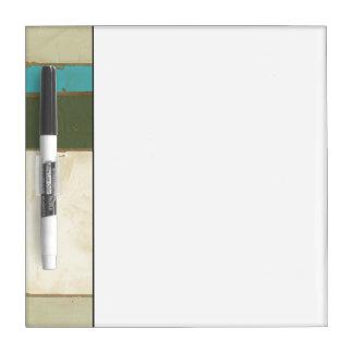 Weathered Panel Painting by Jennifer Goldberger Dry-Erase Board