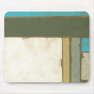 Weathered Panel Painting by Jennifer Goldberger Mouse Pad