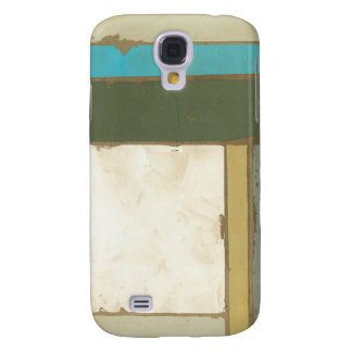 Weathered Panel Painting by Jennifer Goldberger Samsung Galaxy S4 Case