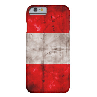 Weathered Peru Flag Barely There iPhone 6 Case