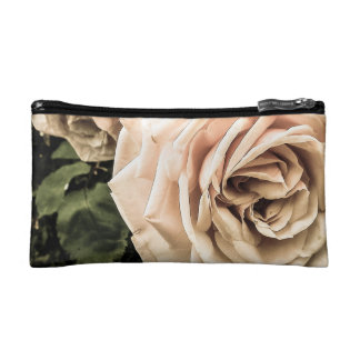 Weathered Pink Rose Cosmetic Bag