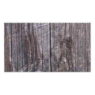 Weathered Power Pole with Staples and Nail Business Card