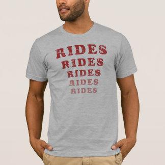 Weathered Rides Rides Rides Rides Rides T-Shirt