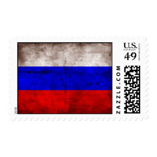 Weathered Russia Flag Postage