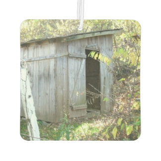 Weathered Rustic Shed Car Air Freshener