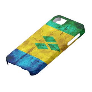 Weathered Saint Vincent Flag iPhone 5 Case