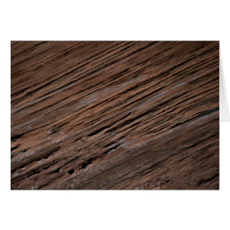 Weathered sandstone, Canyon de Chelly National Mon Greeting Card