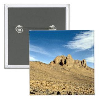 Weathered sandstone rock, Niger Desert Pin