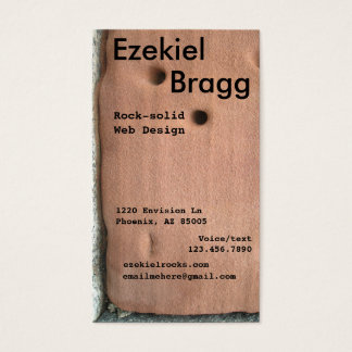 Sandstone Business Cards Templates Zazzle