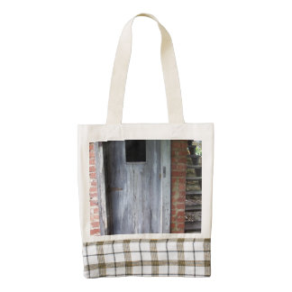 Weathered Shed Door Zazzle HEART Tote Bag