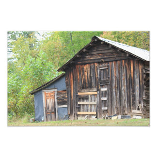 Weathered Shed Photographic Print