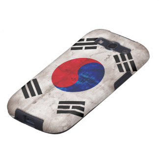 Weathered South Korean Flag Samsung Galaxy S3 Covers