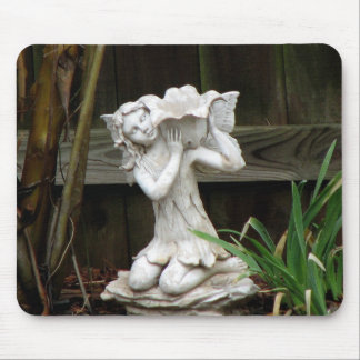 Weathered Statue Mouse Pad