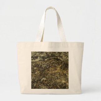Weathered Stone Effect Design. Canvas Bag