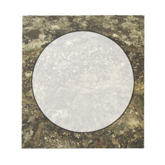 Weathered Stone Effect Design. Note Pad