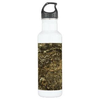 Weathered Stone Effect Design. 24oz Water Bottle
