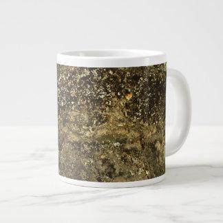 Weathered Stone Effect Design. 20 Oz Large Ceramic Coffee Mug