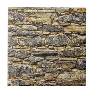 Weathered Stone Old Wall Texture Ceramic Tile