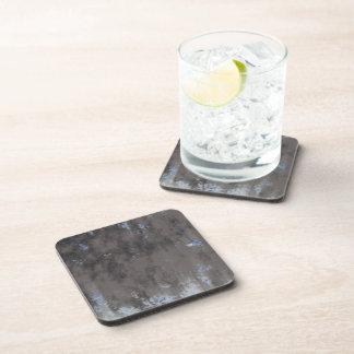 Weathered Stone or Metal Design Coaster