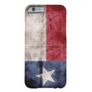 Weathered Texas Flag; Barely There iPhone 6 Case
